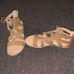 Women's Franco Sarto leather sandals